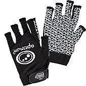 Optimum Stik Mit Rugby Gloves - Black / White - Black