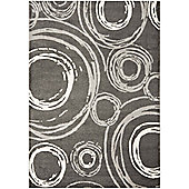 Safavieh Bailey Dark Grey Rug - 342cm x 243cm