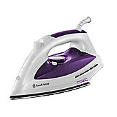 Russell Hobbs 18651 Steamglide Iron 300ml, 2400W - Purple