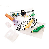 IDO3D Activity Set With Two Pens - Under The Sea