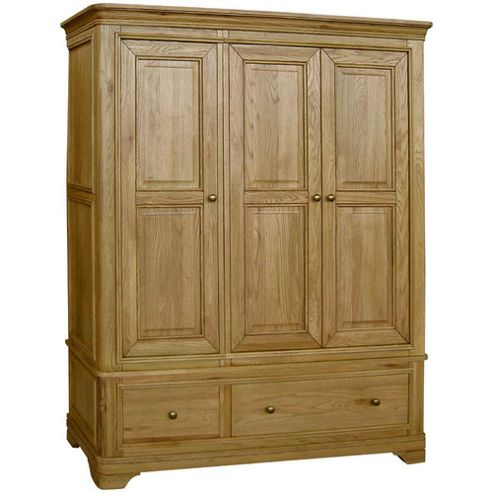 Kelburn Furniture Loire Triple Wardrobe