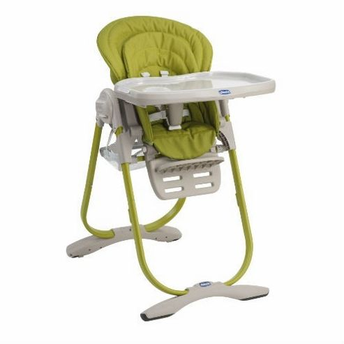 Chicco Polly Magic Highchair (Lime)