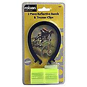 Rolson Bicycle Hi-Vis Armbands & Clip