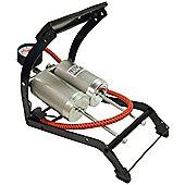 De-Luxe Quality Twin Cylinder Foot Pump-270 Gauge