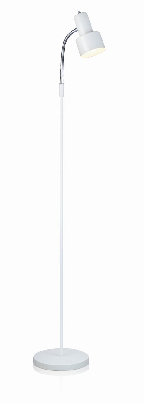 Mark Slojd Glommen 1 Light Floor Lamp - White