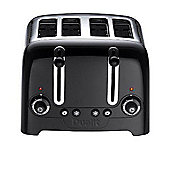 Dualit 4 Slot Lite Toaster - Black Finish.
