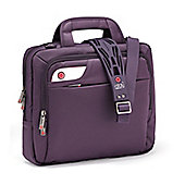 i-stay 13.3 inch tablet, netbook, ultrabook bag with non slip bag strap Purple
