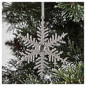 Tesco Snowflake Hanging Decoration