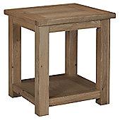 Kelburn Furniture Lyon Lamp Table in Light Oak Matt Lacquer
