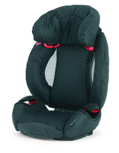 Bebecar Multifix Car Seat, Group 2-3, Black Velvet