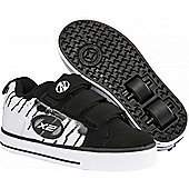 Heelys Speed White/Black Heely Shoe - White