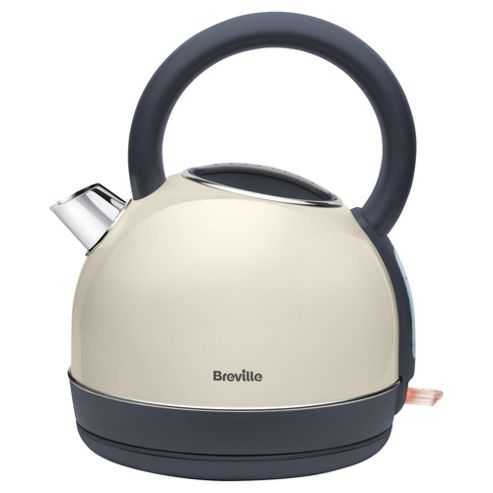 Breville Pick & Mix Traditional Kettle, 1.7L, Cream