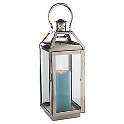 Tesco Metal Hurricane Lantern, Large