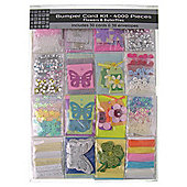 Flowers & Butterflies Bumper Card Kit