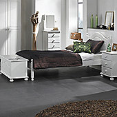 Nordic 2+4 Deep Drawer Chest White