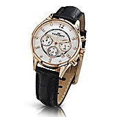 Kennett Ladies Lady Savro Rose Gold Black Watch LWSAVWHGOLBK