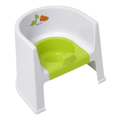 Buy Safetots Dinosaur Potty Chair White With Lime