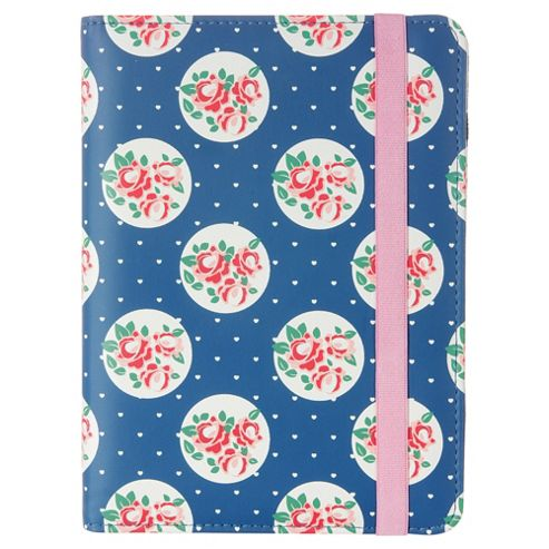 Trendz Pink and Blue Floral e-Reader Case