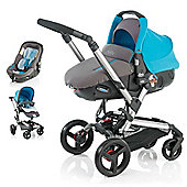 Jane Rider Matrix Light 2 Travel System (Aqua)