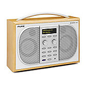 EVOKE2S 2S Luxury Portable Stereo DAB & FM Radio in Maple