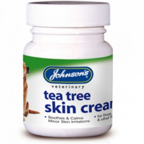 Johnsons Tea Tree Skin Cream (Cat And Dog 50G )
