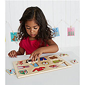 ELC Daily Routine Wooden Puzzle