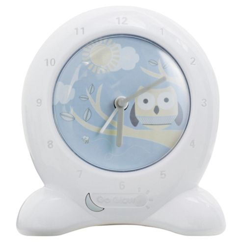 Worlds Apart Owl Go Glow Clock