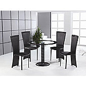 Home Zone Lenora 5 Piece Dining Set