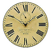 Roger Lascelles Clocks Station Wall Clock with Seconds Hand