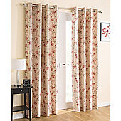 Enhanced Living Serenity Eyelet Natural Curtains 229X229cm