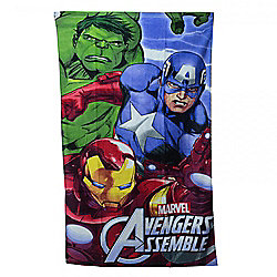 Character Marvel Avengers Printed 100% Cotton Beach Towel