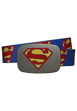 DC Comics Superman Belt - Blue