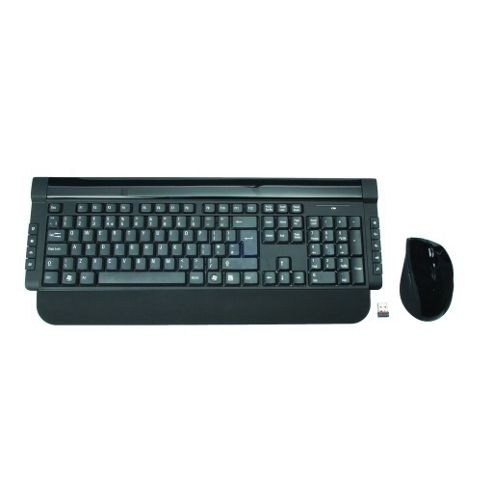 Slim Wireless Keyboard and Mouse Deskset