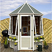 6ft x 6ft Octagonal Summerhouse 6 x 6 Garden Wooden Summerhouse