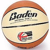 Baden Elite Replica Basketball with EB Logo Size 7