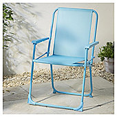 Folding Picnic Chair, Aqua