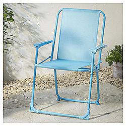 Folding Garden Picnic Chair, Aqua