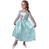 Child Disney Frozen Elsa Costume Large