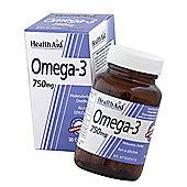 HealthAid Omega 3 750mg Capsules