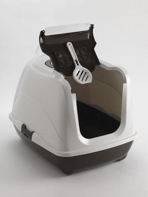 Moderna Products Flip Cat Litter Box - 50cm - Brown