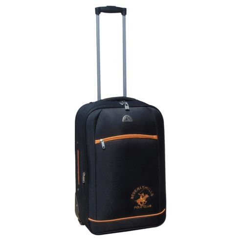 Beverly Hills Polo Club 2-Wheel Suitcase, Sporty Black Small
