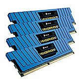 Corsair Vengeance Low Profile 16GB (4 x 4GB) Memory Kit PC3-12800 1600MHz DDR3 DIMM Unbuffered (Blue)