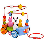 Bigjigs Toys BB020 Farm Pull Along