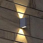 NYX Lighting Ingot 2 Light Wall Light - White