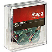 Stagg PBOX1 .71mm Plectrums - 100 Pack