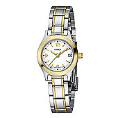 M-Watch Lady Chic Ladies Gold Ion-plated Stainless Steel Date Watch A629.30516.40