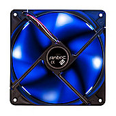 Antec TwoCool 140 mm Fan 0-761345-75215-2 with Case for PC - Blue