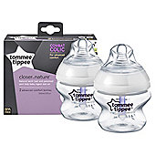 Tommee Tippee Closer To Nature Advanced Comfort Bottles 150Ml - 2 Pack