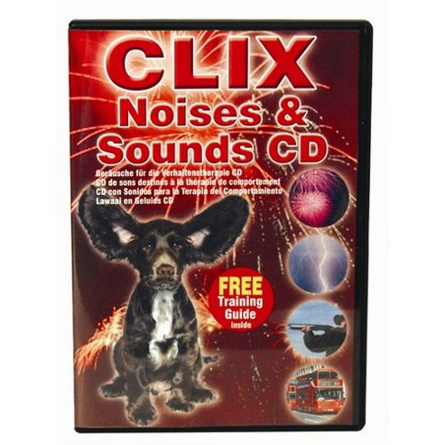 Clix Dog Training Noises and Sounds CD