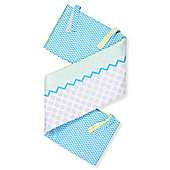 My World Baby Bedding Colour Blue Cot/Cot bed Bumper